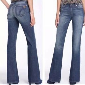 Joe's Stardust Flared Jeans Size 25x31 Ludlow Wash